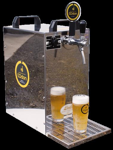 Tireuse de bière disponible à la location à la Brasserie de l'Odon en Normandie